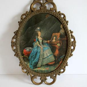Marie Antoinette decorative frame