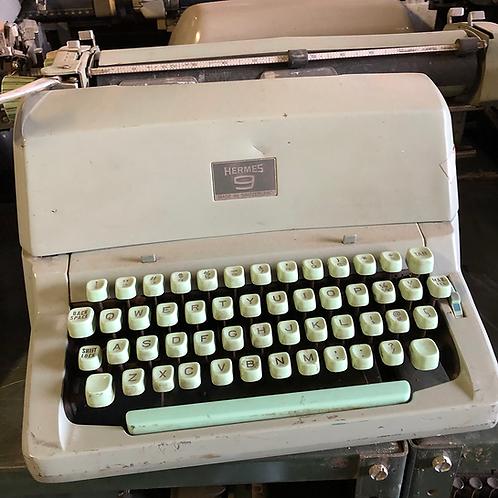 Mint Green Hermes Typewriter