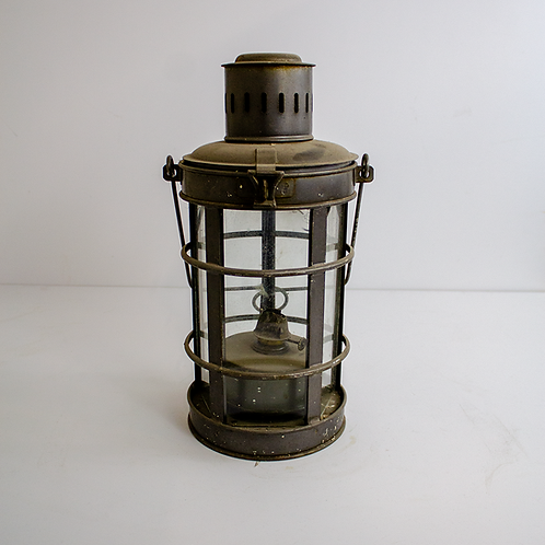 Caged Oil Lantern