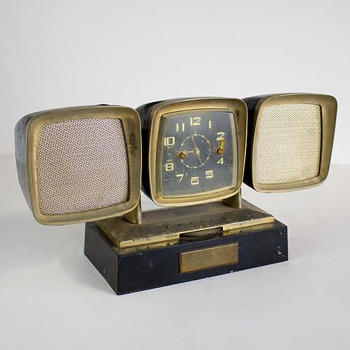 Brass Clock Radio