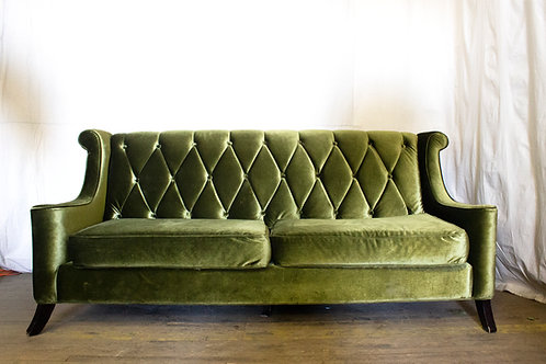 Green Couch Front View