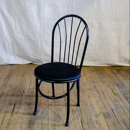 Black Bow Back Chair