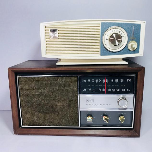 Sears (top) RCA (bottom) Radio