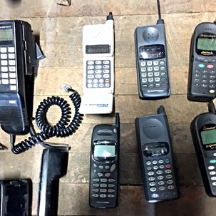 Vintage cell phones