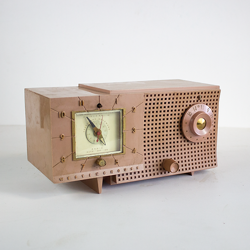 Pink Westinghouse Radio 1950s