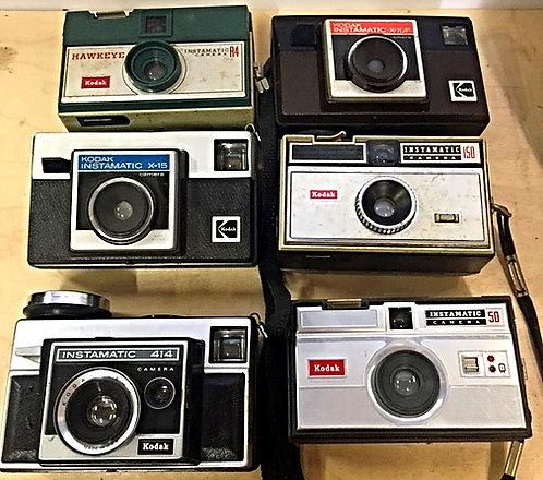 Kodak Instamatic Camera 1960s
