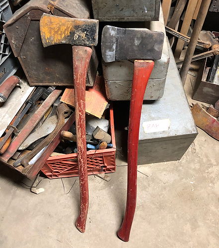 Red Handle Axe