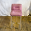 Thumbnail: Purple Bar Stools with Acrylic legs