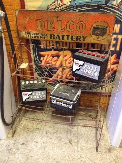 Delco Battery Rack