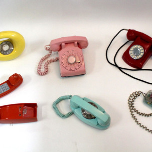 Colorful phones of all eras