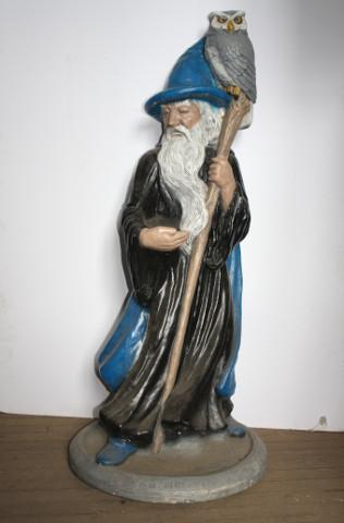 Merlin Wizard Statue