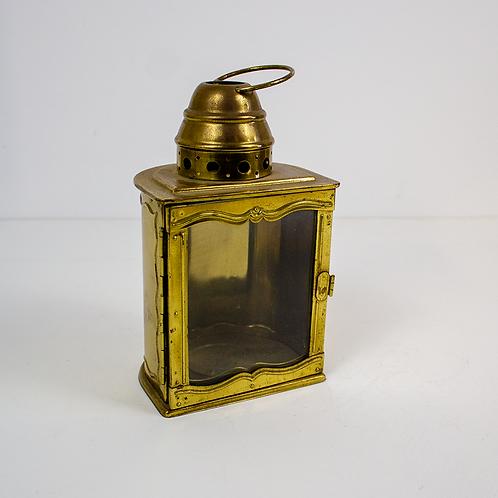 Gold Votive Candle Lantern