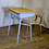 Thumbnail: Blue Wood Top School Desk