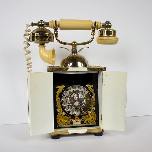 Mona Lisa French Victorian Style Rotary Phone
