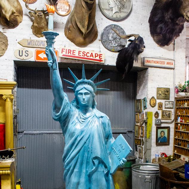 Statue of Liberty, Americana
