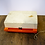 Thumbnail: Orange Plastic Portable Record Player