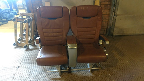 Pair of Airplane Seats, Rental Airplane Furniture