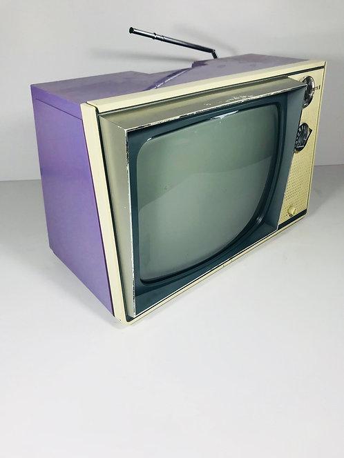 Purple Zenith Tube Television