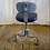 Thumbnail: Black Rolling Office Lab Chair