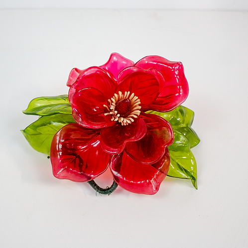 Red Decorative Flower
