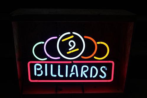 BILLIARDS Neon Sign