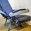 Thumbnail: Blue Airplane Seats (Bank of Three)