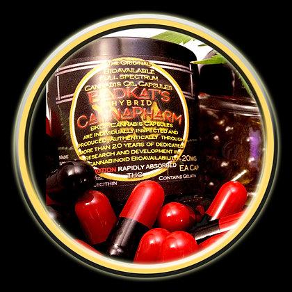Black & Red ORIGINAL Bioavailable Canna Capsules