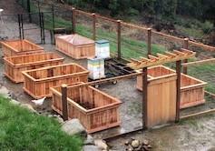 Hugelkulture Method for Garden Beds