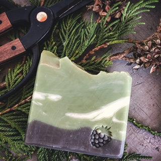 Cedar & Amber Handmade Soap