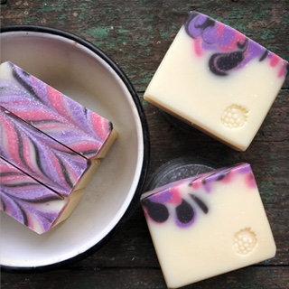 Summer Blackberry Soap - Vegan