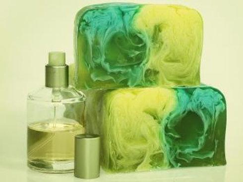 Парфюмированное натуральное мыло по мотивам VERSACE Versense