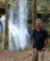 Steven Walsh, Director of Leadership Gifts at Tennessee Parks & Greenways Foundation. Photo Credit: Ted LaRoche. Location: Virgin Falls