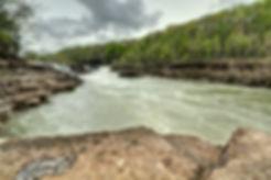 Great Falls, Caney Fork River, Rock Isla