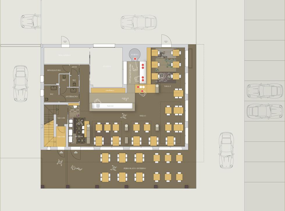 RESTAURANT | interior and furniture design by RMDESIGNSTUDIO