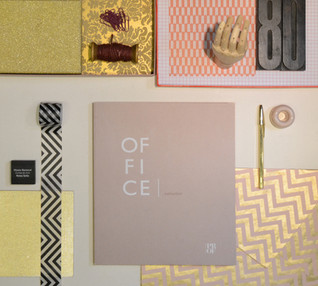 OFFICE | Set design, styling, graphic design and art direction by RMDESIGNSTUDIO