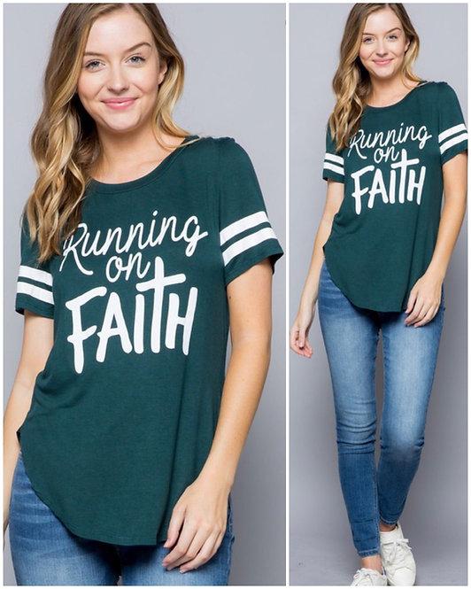 """Hunter Green """"Running on Faith""""- 6116"""