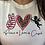 Thumbnail: Peace Love Cupid Tee - 6111