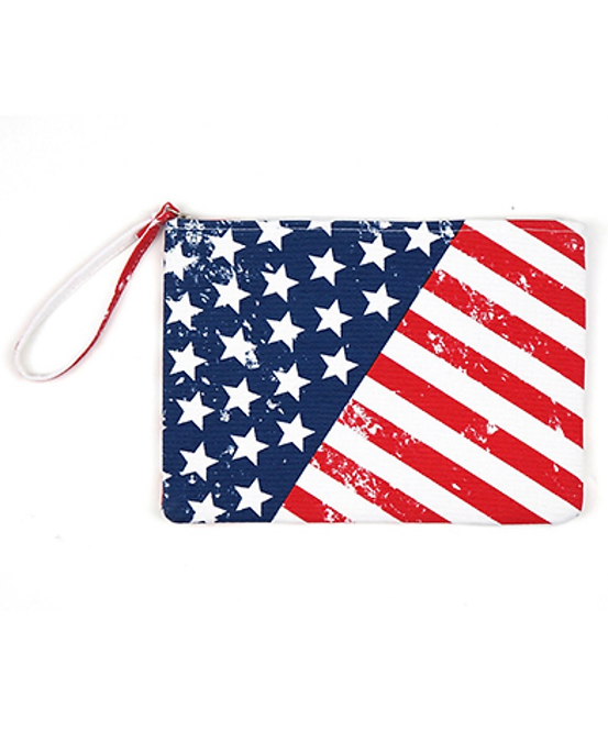 American Flag Pouch -1014