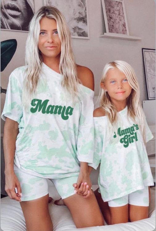"""Mama's Girl""- Girls Loungewear Set  -5006"