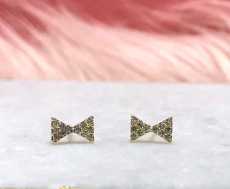 Bow Stud Earrings - 2004