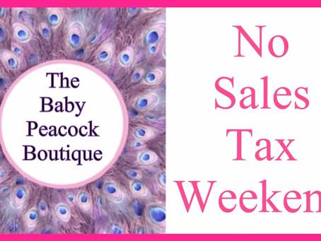 Tax Free Weekend + 10% Off