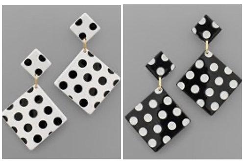 Cutest Polka Dot Earrings -2050