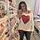 Thumbnail: Sequin Heart Top -6100