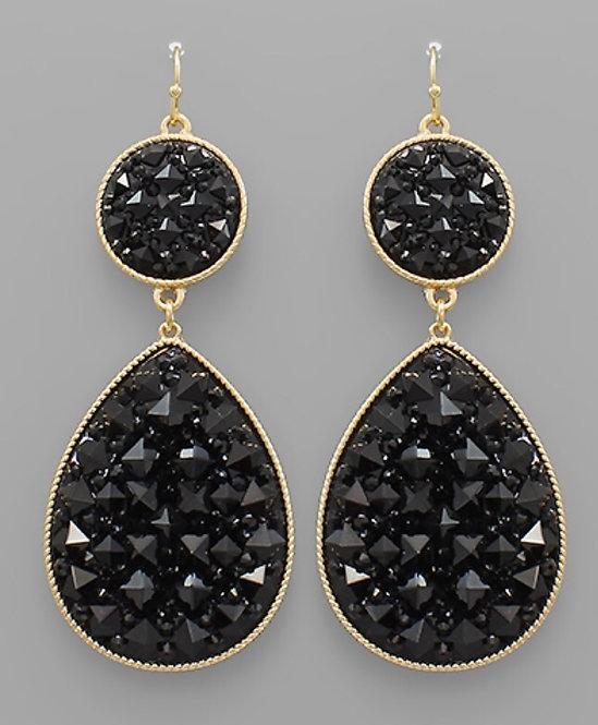 Jewel Drop Earrings -2099