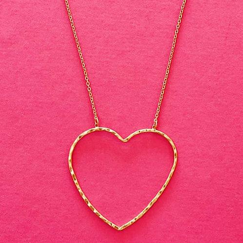 Big Heart Necklace -3019
