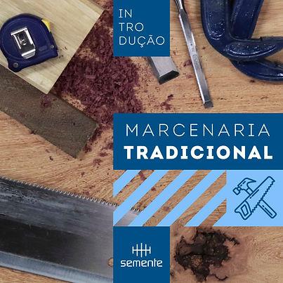 curso de introdução à marcenaria tradicional