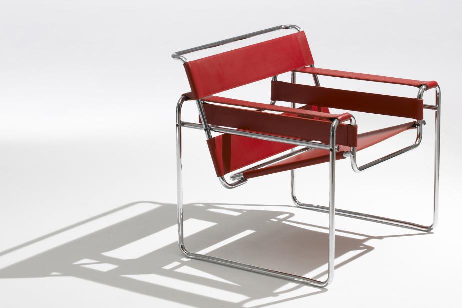 cadeira wassily chair marcel breuer bauhaus