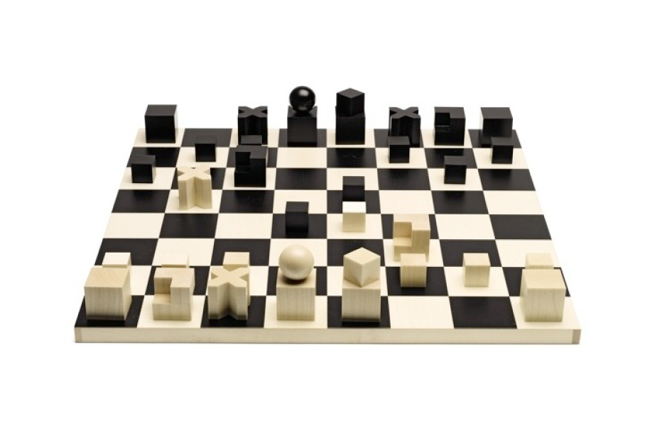 tabuleiro de xadrez bauhaus josef hartwig