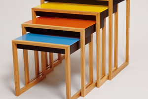 Nesting Tables Josef Albers Bauhaus
