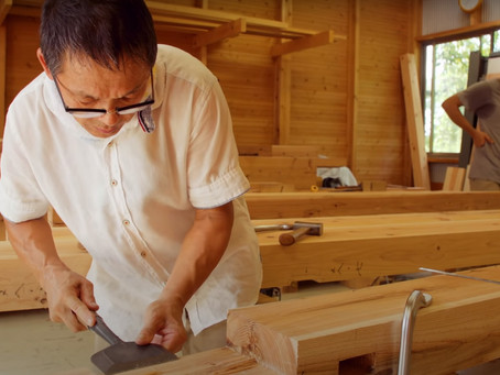 O maravilhoso mundo da carpintaria Japonesa